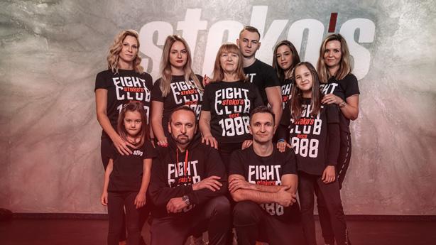 Stekos Kampfsport München - Familie Steko 3