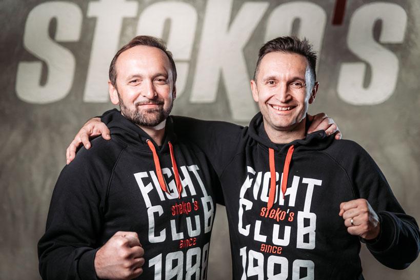 Stekos Kampfsport München - Pavlika u. Mladen Steko 2