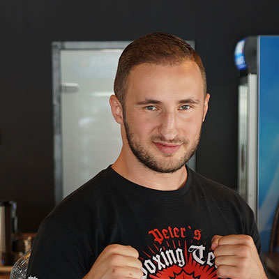 Stekos Kampfsportstudio München - Fighter Dardan Morina