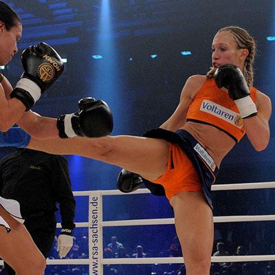 Stekos Kampfsportstudio München - Hall of Fame Dr. Christine Theiss