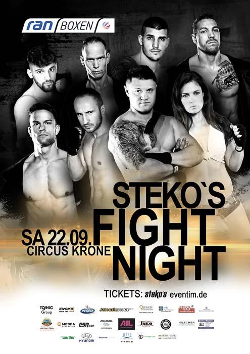 Stekos München Fightnight Sat.1 ran Boxen September 2018 - Circus Krone