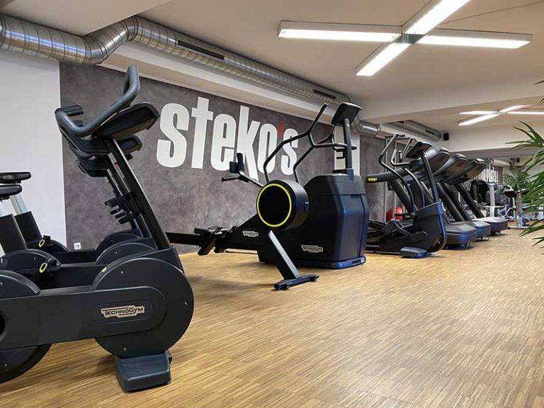 Stekos Fitness München - Studio Süd Cardio Geräte