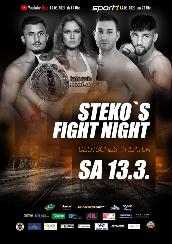 Stekos Fight Night 13.03.