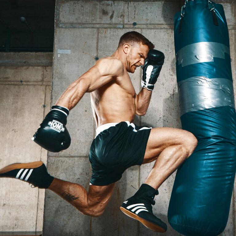Thaiboxen Training in München – Stekos Fightclub – Sebastian Preuss